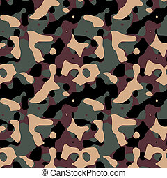 Military mimetic texture useful as a background