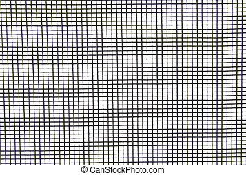Insect Screen Background - A background isolation of a nylon...