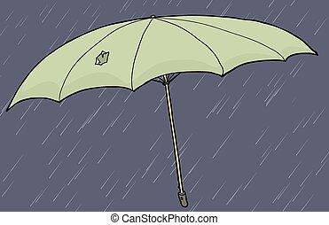 Umbrella with Hole in Umbrella