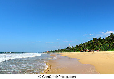 Bentota Beach, Indian Ocean, Sri Lanka