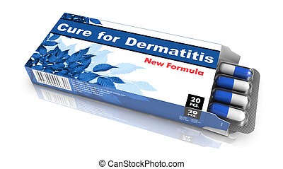 Cure for Dermatitis - Blister Pack Tablets. - Cure for...