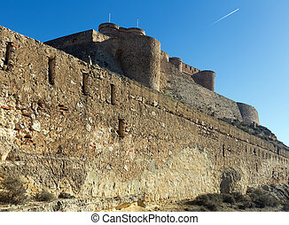 Castle of Chinchilla Chinchilla de Monte-Aragon, province of...