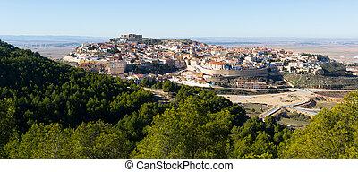 General view of Chinchilla de Monte-Aragon. Albacete, Spain...