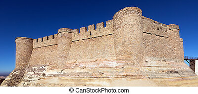 Castle Chinchilla de Monte-Aragon, province of Albacete,...