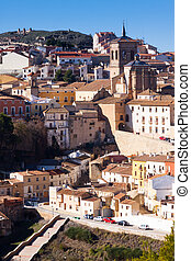 Street view of Chinchilla de Monte-Aragon Province of...
