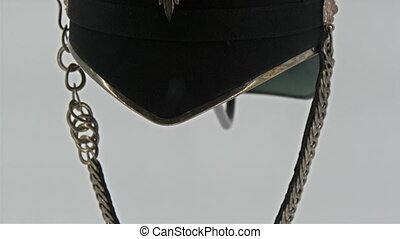 A beautiful hat of a knight display - A beautiful hat of a...