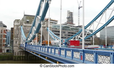 The famous London Bridge.Tower Bridge refers to several...