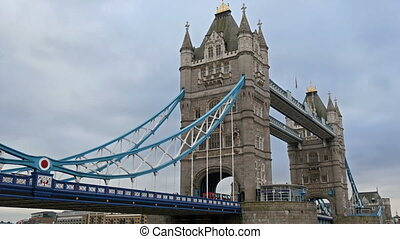 One of Londons beautiful spot is the Tower bridge This tower...