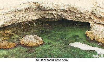 Scenics Black Sea Coast Of Cape Tarkhankut in Crimea -...