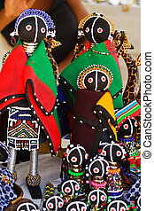 African art - Traditional southern African dolls, crafted...