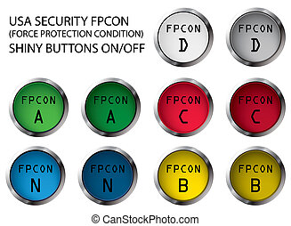 FPCON buttons