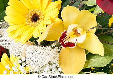 Flowers - colorful bouquet of flowers