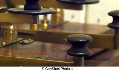 A morse code from the old ancient times. Morse code is a...
