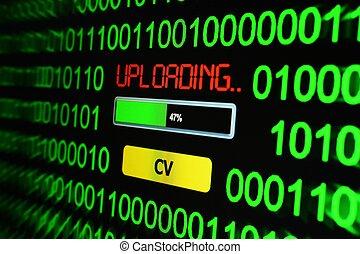 Upload CV