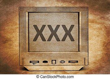 XXX on TV