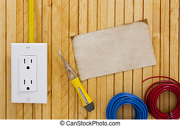 Equipment for installing electrical outlets - Equipment and...