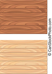 Wood Pattern - A seamless repeating wood pattern.
