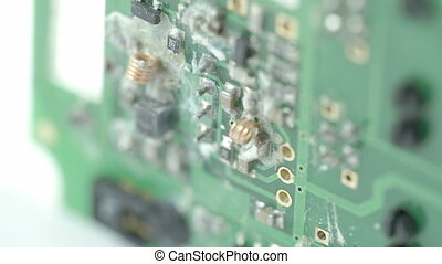 Chipset of a USB stick processor The processor has small...
