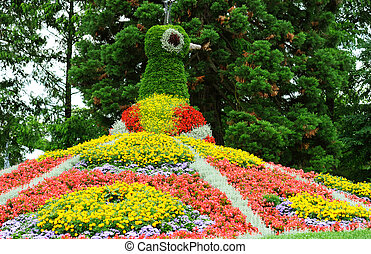 flower garden Island Mainau, Bodensee Germany - flower...