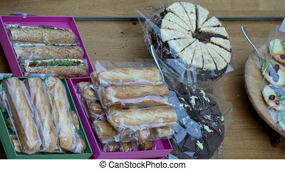 Sweets on the table displayed on an event