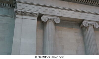Parthenon temple from Greece in Europe. The Parthenon is a...