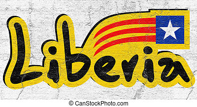 Liberia Icon - Creative design of Liberia Icon