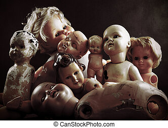 Creepy dolls