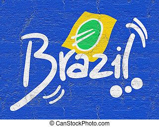Ribbon brazil - Creative design of ribbon brazil