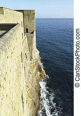 casel dell ovo - photo of castel dell ovo a old historical...