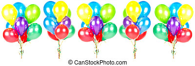 colorful balloons. party decoration