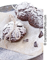 Chocolate snow cap cookies for Christmas - Chocolate tasty...