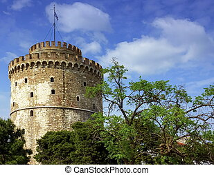 The White tower of Thessaloniki, Greece - The White tower of...