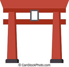 Torii - Vector illustration.
