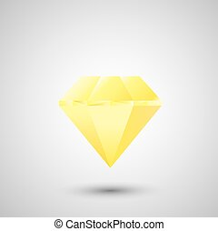 vector diamond.