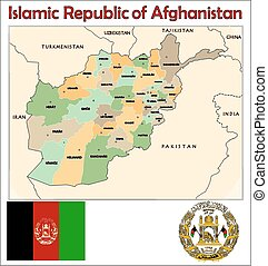 Afghanistan administrative division