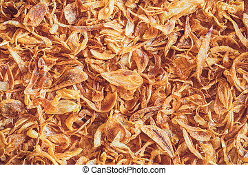 deep fried onion food background