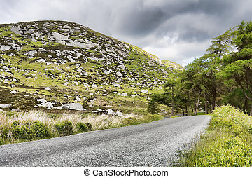 Wicklow Mountains - Landscape in the Wicklow mountains...