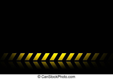 construction background yellow and black line abstract for...