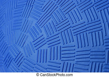 Blue Dodge Ball Pattern - Pattern Design of Blue Rubber...