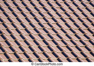 Background - roof tiles background