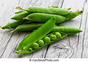 Some green peas