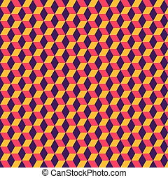 creative colorful block pattern background design vector