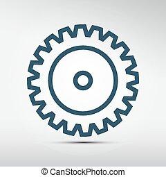 Cog - Gear Vector Icon