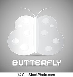 Paper Vector Butterfly