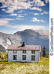 Mountain House - An abandoned house in the Norwegian...