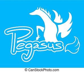 Elegant pegasus - Creative design of Elegant pegasus