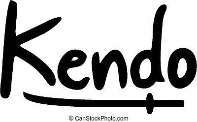 Kendo symbol - Creative design of Kendo symbol