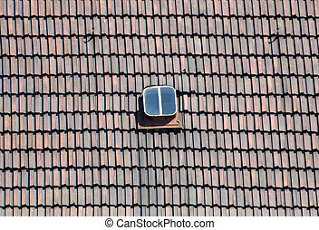 Roof tiles with Dormer window
