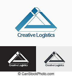 Triangle impossible vector logo