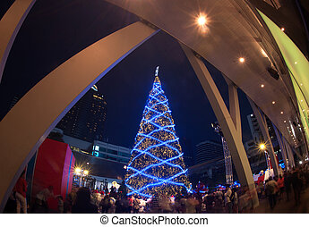Christmas tree - Christmas tree at Centralworld shopping...